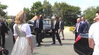 Vladimir Poutine présent au mariage d?une ministre autrichienne