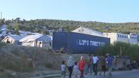 Migrants : le camp de Moria à Lesbos saturé
