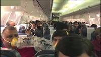 Inde: quand l'équipage d?un avion oublie de pressuriser la cabine