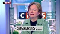 """Nathalie Loiseau, ministre des Affaires européennes : """"Il y a un mensonge par jour avec Marine Le Pen"""""""
