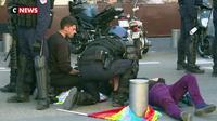 """Manifestante blessée : elle n'est pas tombée seule mais il n'y a pas eu  de """"geste intentionnel"""""""