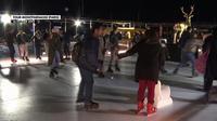 La patinoire de la tour Montparnasse a ouvert ses portes