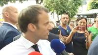 """Emmanuel Macron : """"Arrêtez de vous exciter comme ça sur cette affaire"""""""