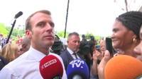 Macron aux Antilles : « Je suis impatient comme les Français »
