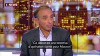 """Éric Zemmour : """"Emmanuel Macron ne s'en sortira pas. Son mandat est terminé"""""""
