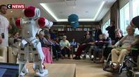 Maison de retraite : un robot animateur pour seniors