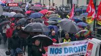 Bordeaux : les retraités manifestent