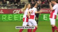 Brigitte Macron s'engage pour le football féminin