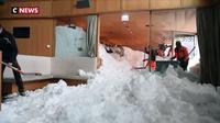 Suisse : un hôtel enseveli sous la neige