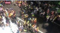 Thaïlande : batailles d'eau géantes à Bangkok