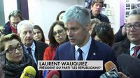 Laurent Wauquiez vient en aide aux commerçants