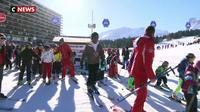 Alpes :  apprendre à skier à tout âge