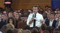 Indre : Emmanuel Macron a la rencontre des maires ruraux