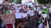 Algérie  : les étudiants protestent contre un cinquième mandat de Bouteflika