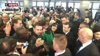 Salon de l'agriculture : le marathon d'Emmanuel Macron