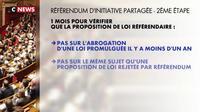 Référendum d'initiative partagée : mode d'emploi