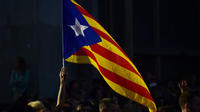 Environ 300 000 personnes ont manifesté à Barcelone ce mardi 3 octobre 2017.
