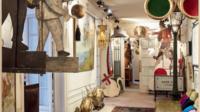 Parisienne dans l'âme, Roxane Debuisson a collectionné pendant 50 ans des centaines d'objets relatifs à cette ville quelle chérissait tant.