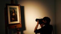 L'œuvre de Marcel Duchamp représente La Joconde affublée d'une moustache et d'un bouc.