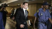 Oscar Pistorius à son arrivée au tribunal le 8 décembre 2016 à Pretoria [GIANLUIGI GUERCIA / AFP/Archives]