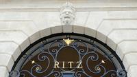 La façade de l'hôtel Ritz à Paris, le 27 mai 2016 [MATTHIEU ALEXANDRE / AFP/Archives]