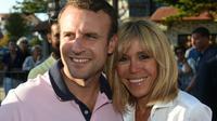 Le président Emmanuel Macron et son épouse Brigitte Macron, le 17 juin 2017 au Touquet. [Philippe HUGUEN / AFP/Archives]