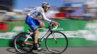 Jean-Christophe Péraud pendaqnt la dernière étape du Tour de Suisse le 16 juin 2013 entre Bad Ragaz et Flumserberg [Fabrice Coffrini / AFP/Archives]