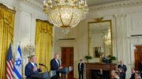 Le Premier ministre israélien Benjamin Netanyahu et le président américain Donald Trump, le 15 février 2017 à la Maison Blanche, Washington [Mandel Ngan                          / AFP]