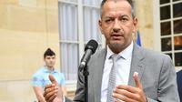 Le secrétaire général de Force Ouvrière Pascal Pavageau à Matignon, le 30 août 2018  [BERTRAND GUAY / AFP/Archives]