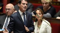Le Premier ministre Manuel Valls le 24 novembre 2015 à l'Assemblée nationale à Paris [ERIC FEFERBERG / AFP/Archives]