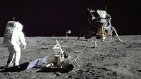 Buzz Aldrin sur la Lune en juillet 1969 [Neil ARMSTRONG / NASA/AFP]