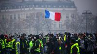 Manifestation de gilets jaunes, le 1er décembre 2018 à Paris [AFP/Archives]