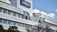 Le siège d'Airbus à Blagnac, dans la banlieue de Toulouse, le 6 mars 2018 [REMY GABALDA / AFP]