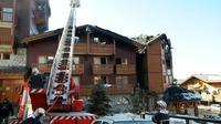 Un incendie s'est déclenché dans un bâtiment abritant des saisonniers à Courchevel [JEAN-PIERRE CLATOT / AFP/Archives]