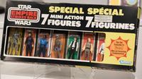 Un pack de figurines Star Wars présentées par la maison Sotheby's, le 2 décembre 2015 à New York  [DON EMMERT / AFP/Archives]