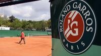 Un court de tennis à Roland-Garros [Jacques Demarthon / AFP/Archives]