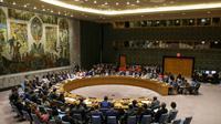 Le Conseil de sécurité des Nations Unies se réunit pour discuter de la situation des Rohingyas en Birmanie, au siège de l'ONU, à New York, le 28 août 2018 [DOMINICK REUTER / AFP]