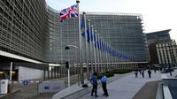 Le siège de la Commission européen, le 16 octobre 2017 à Bruxelles [EMMANUEL DUNAND / AFP/Archives]
