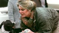 Brigitte Bardot, au refuge de Cabriès (Bouches du Rhône), le 17 janvier 1989 [GERARD FOUET / AFP/Archives]