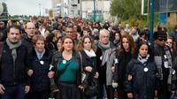 Marche en mémoire de Christine Renon, le 5 octobre 2019 à Pantin [GEOFFROY VAN DER HASSELT / AFP]