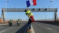 Sur la rocade autour de Bordeaux, le 17 novembre 2018 [NICOLAS TUCAT / AFP]