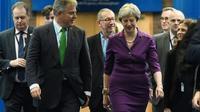 La Première ministre britannique Theresa May à Birmingham (centre de l'Angleterre) le 2 octobre 2018. [Oli SCARFF                           / AFP]