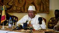 Le Premier ministre malien Soumeylou Boubèye Maiga, le 13 octobre 2018 à Mopti [MICHELE CATTANI / AFP/Archives]