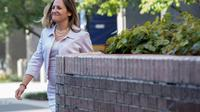 La ministre des Affaires Etrangères canadienne Chrystia Freeland avant une rencontre avec le représentant au Commerce américain Robert Lightizer à Washington DC, le 30 août 2018 [Jim WATSON / AFP]