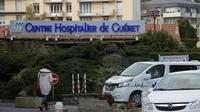 L'hôpital de Gueret, dans la Creuse, le 17 janvier 2018 [PASCAL LACHENAUD / AFP/Archives]