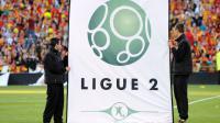 """La Ligue 2, qui débute à 20h00 verra une grande """"nouveauté"""", des barrages d'accession à la Ligue 1, pour le 3e de la saison régulière [Denis Charlet / AFP/Archives]"""