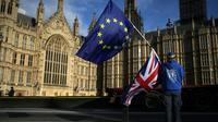 Les dirigeants européens vont débattre le 23 février 2018 à 27, du budget de l'UE après 2020 et le départ du Royaume-Uni [Daniel LEAL-OLIVAS / AFP/Archives]