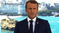 Emmanuel Macron s'est adressé aux Français, ce samedi 24 août 2019 à 13h, pour expliquer les enjeux du G7.