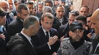 «Je n'aime pas ce que vous avez fait devant moi», a crié le président à un policier israélien.