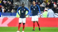 N'Golo Kanté a été une des rares satisfactions tricolores, alors que Raphaël Varane a été décevant contre la Colombie.
